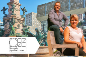Baufin Experte Matthias Dickes und Cornelia Lübke