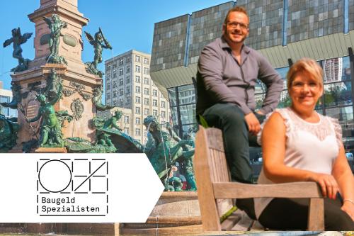 Baufinanzierung Leipzig   Matthias Dickes und Cornelia Lübke